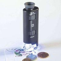 Kapesní mikroskop s LED diodou 60-100x