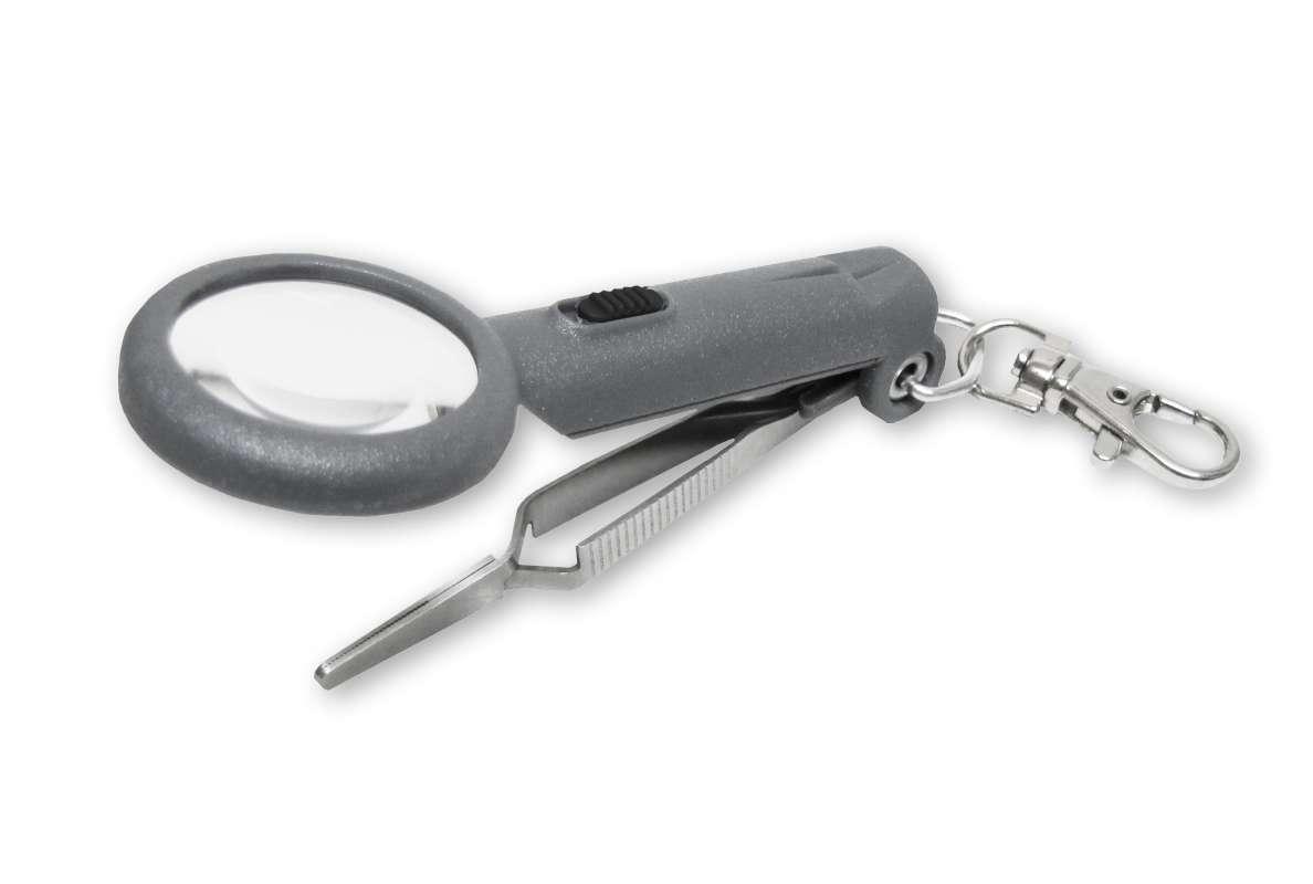 Pinzeta s lupou na muškování Carson Fish´n Grip Pro OD-88 Carson Optical (USA)