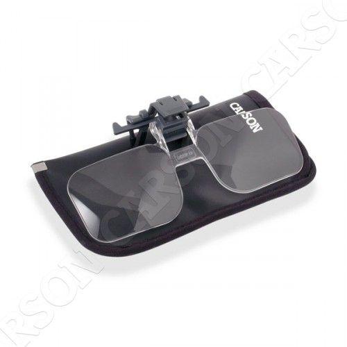 Carson Optical (USA) Lupa 2x s klipem na brýle Carson OD-14