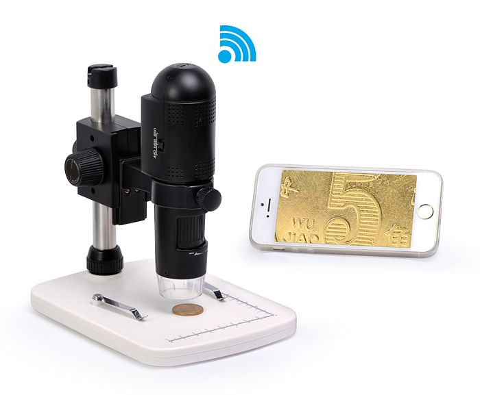 Levenhuk digitánlí mikroskop DTX 720 WiFi (10-200x)