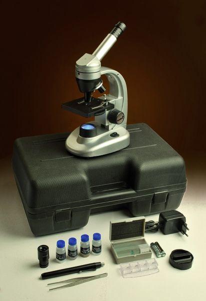 Mikroskop Levenhuk 50L NG bílý + kufřík s výbavou