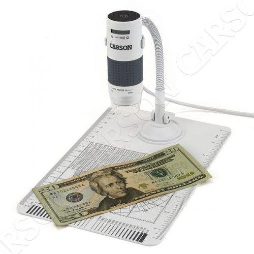 Carson Optical (USA) Digitální mikroskop 75x-300x Carson MM-840 s LED podsvícením