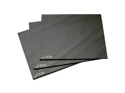 Sklo do svářečské kukly, tmavé, 90x110 mm, tmavost č. 9; 2221-T09
