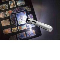 Bezrámová lupa s diodami LED a zvětšením 2,5x Leuchtturm