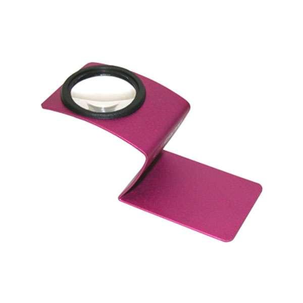 Designová lupa Carson Wave WV-55PI růžová Carson Optical (USA)