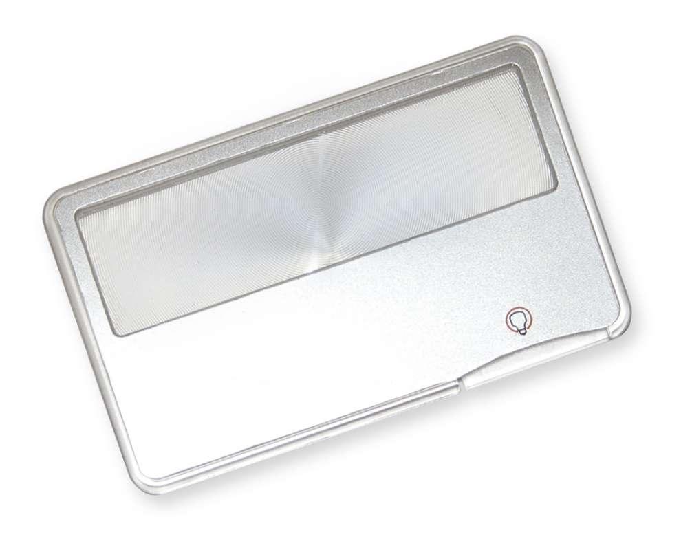 Carson Optical (USA) Kreditka - lupa s LED Carson MC-99