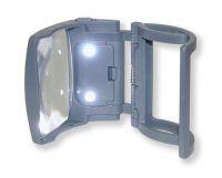 Lupa na dózu s léky Carson MagRX RX-75 s osvětlením Carson Optical (USA)