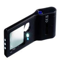 Leuchttrum lupa 3 + 10x, mikroskop 15x a UV lampa + LED svítina