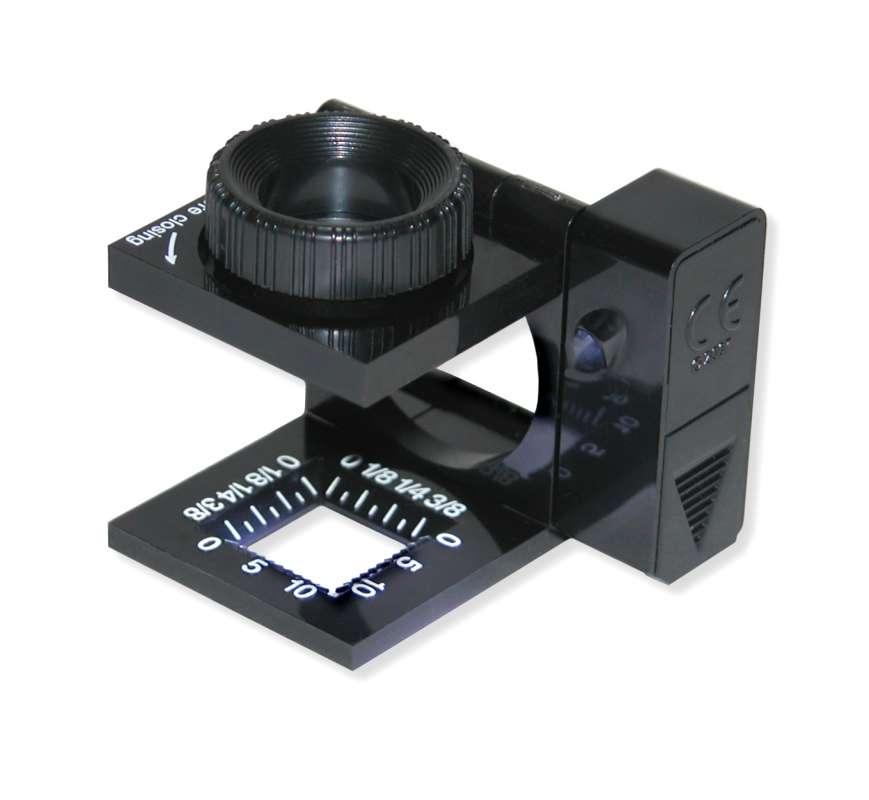 Tkalcovská lupa Carson LinenTest LT-10 Carson Optical (USA)