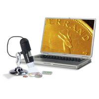 USB digitální mikroskop, zvětšení 20 - 200x Leuchtturm