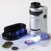 Zoom mikroskop s LED diodami a zvětšením 20-40 x