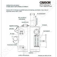 Dětský mikroskop a dalekohled Carson CP-11 Carson Optical (USA)