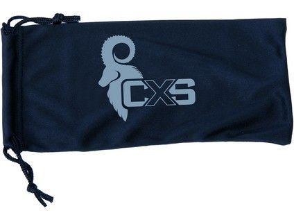 CXS sáček na brýle, černý; 2266-10