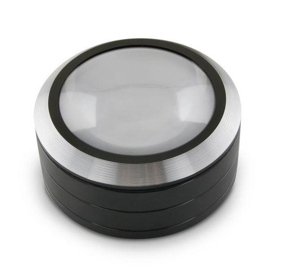 Lupa Levenhuk Zeno 900 s LED osvětlením, 5x, 75 mm, kovová