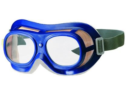 Ochranné brýle OKULA B-B 19, čirý zorník 2205-00 zelené