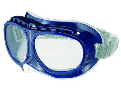 Ochranné brýle OKULA B-E 7, čirý zorník 2238-00; zelené