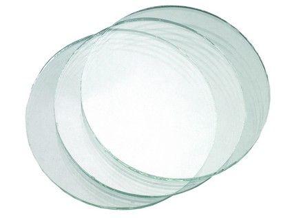 Sklo do svářečských brýlí, čiré, průměr 50 mm; 2224-00