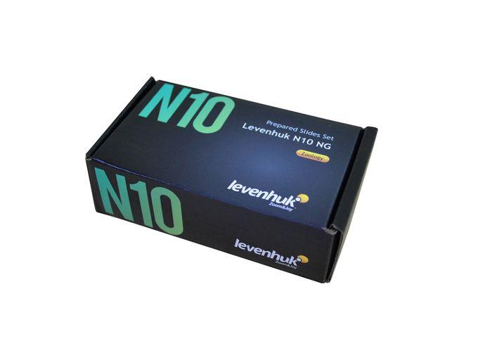 Sada preparátů připravených k pozorování mikroskopem - Levenhuk N10 NG