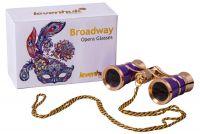 Divadelní kukátko Levenhuk Broadway 325C s řetízkem - Ametyst
