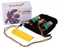 Divadelní kukátko Levenhuk Broadway 325C s řetízkem - Limetka
