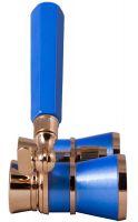 Divadelní kukátko Levenhuk Broadway 325L s lorňonem - Blue Wave/Modrá vlna