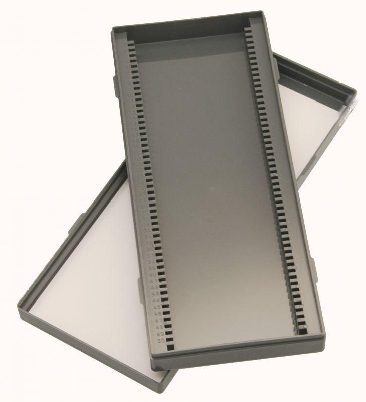 Kontejner pro mikroskopické preparáty (50ks)