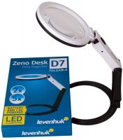 Lupa Levenhuk Zeno Desk D7 - 2/5x