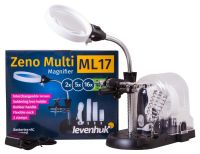 Multifunkční lupa Zeno Multi ML17 - 2/5/16x + LED