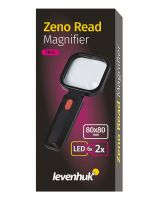 Ruční lupa Levenhuk Zeno Read ZR10 bílá - 2/6x + LED