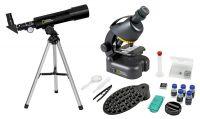 National Geographic - Dětský set mikroskop + hvězdářský dalekohled | www.lupy-dalekohledy.cz
